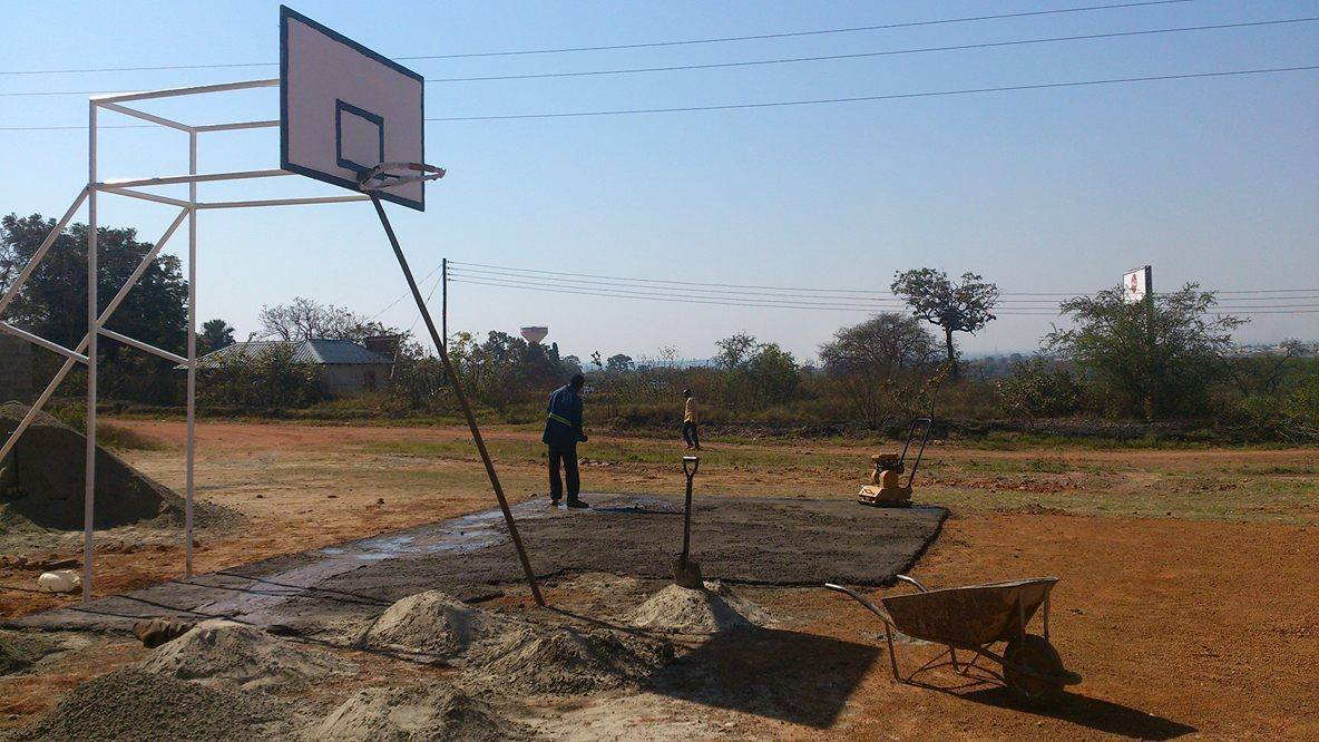 GoZambia17 - Basketball Court