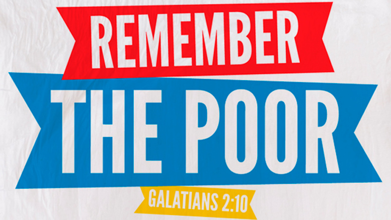 Remember The Poor